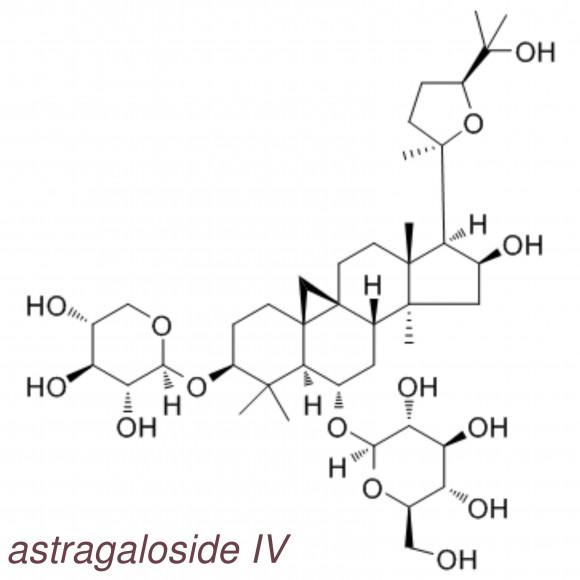 galerie formule astragaloside IV